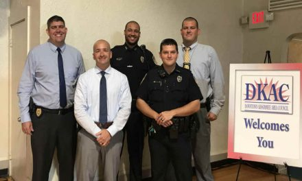 DKAC and Kissimmee/Osceola Chamber Present Back the Blue Awards to Five KPD Officers