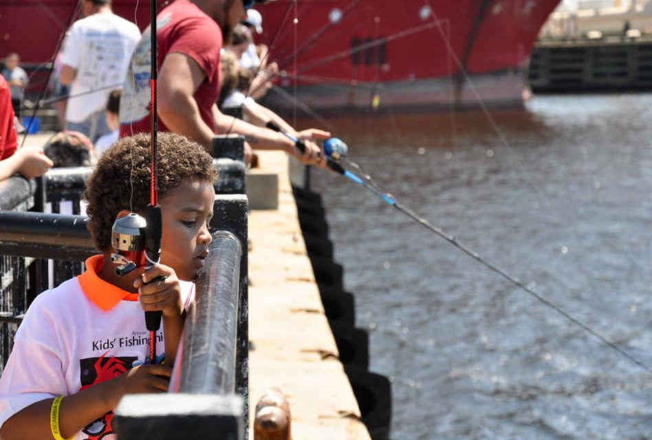 FWC Offers Free Kids' Fishing Clinic in Cape Canaveral on June 22