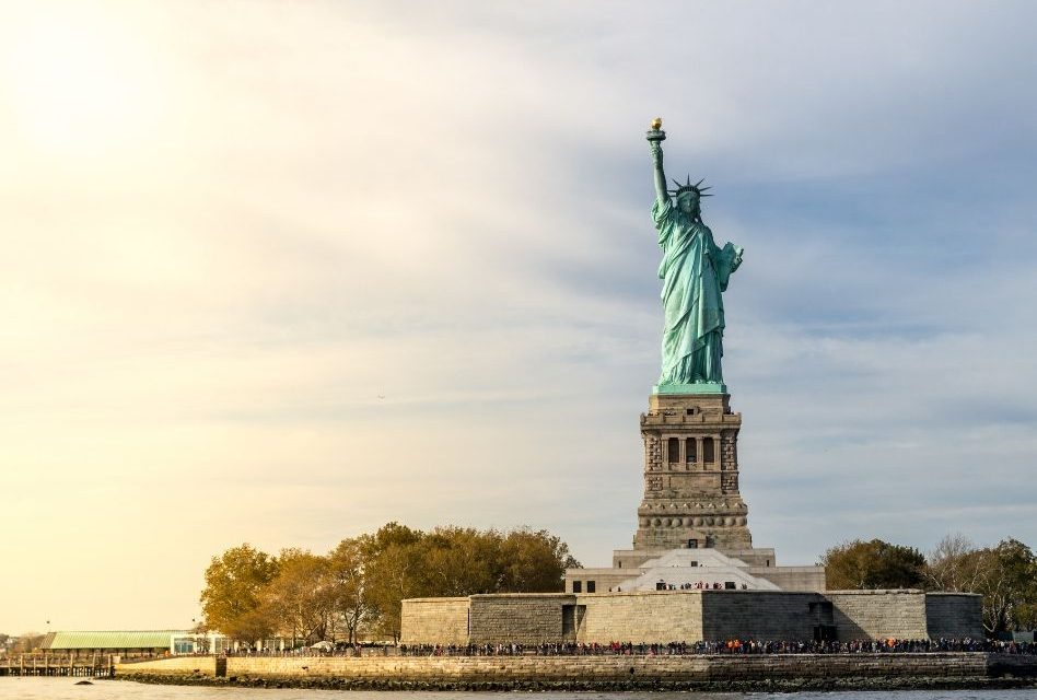 134 Years Ago on This Day, the Statue of Liberty Arrived in The United States
