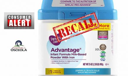 Infant Formula, Only Sold at Walmart, is Being Recalled Because of Fears of Metal