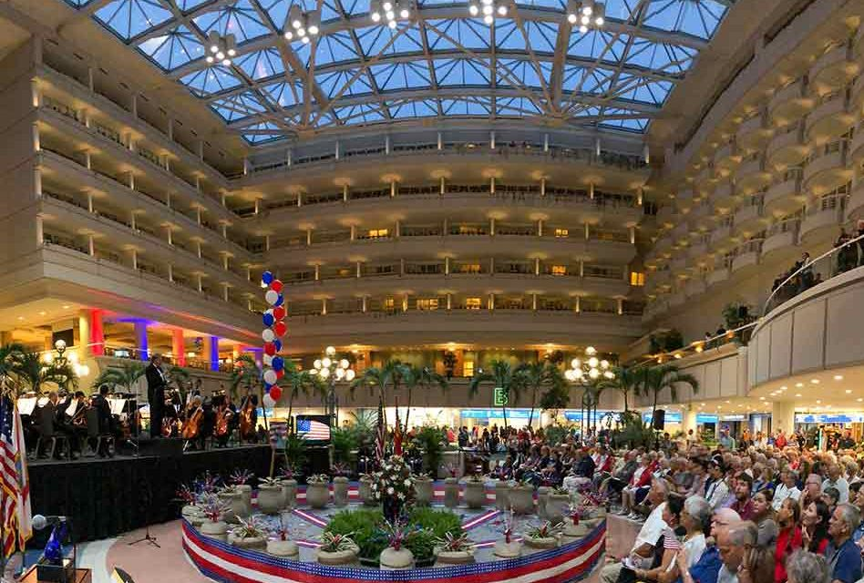 Orlando International Airport Celebrates America's 243rd Birthday With Liberty Weekend Concert