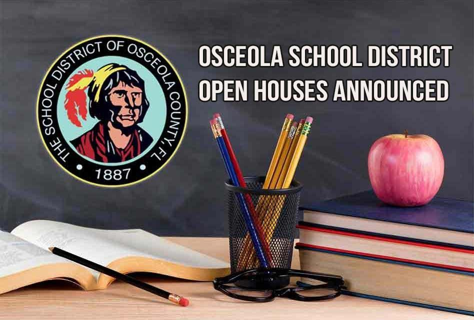 Back-To-School Open Houses Announced For Osceola County Schools