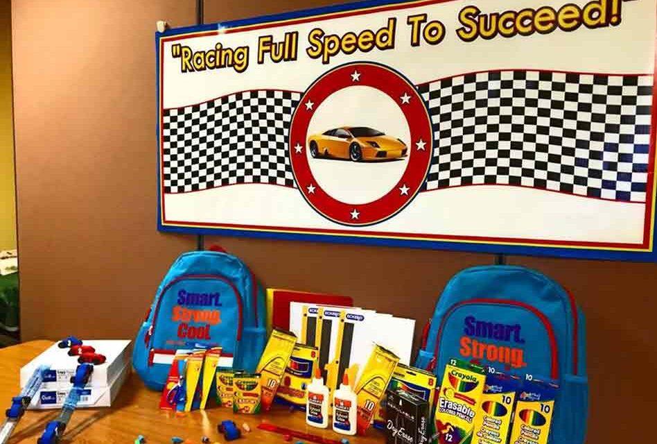 Education Foundation Osceola County Revs Up School Supply Drive