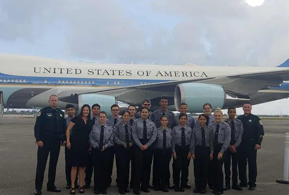 Osceola County Sheriff's Office Hosts Florida Sheriff's Explorer Association Summer Delegates