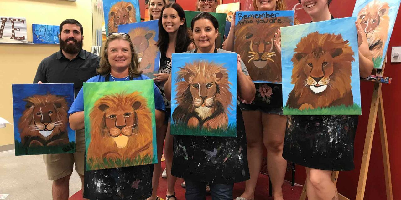 Community Artists Support Central Florida Animal Reserve With Painting With a Twist