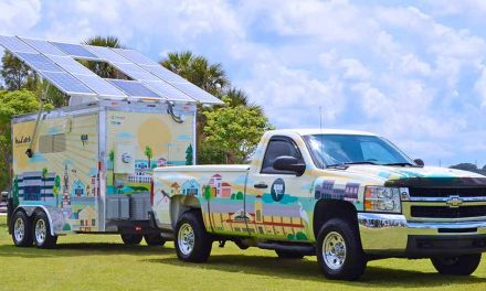 "KUA Unveils ""SunCatcher,"" Its Solar Energy Education Trailer"