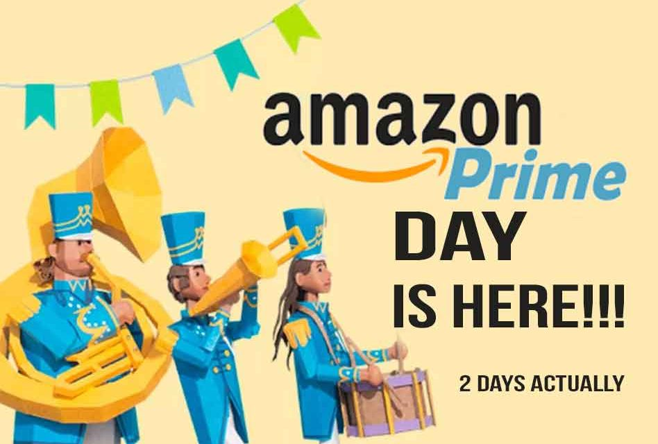 Amazon Prime Day 2019 is Here, and Walmart, Best Buy, Ebay and Target are Joining In!