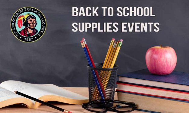 Positively Osceola's List of Back to School Supplies Events