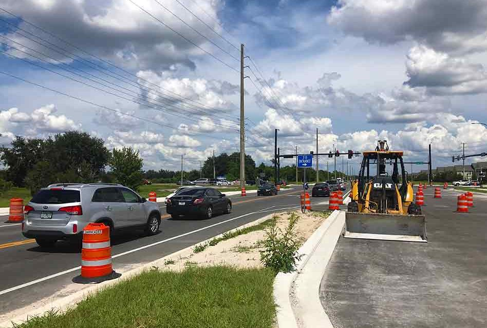 City of Kissimmee Announces New Traffic Pattern on Carroll Street