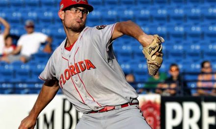 Florida Fire Frog Pitcher Tristan Beck Shuts Out Bradenton 2-0