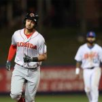 Fire Frogs' Lugbauer Powers in 5 RBIs but D-Jays Take Win 12-11 in Ten Innings