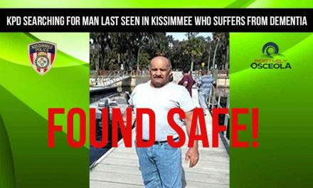 Man Suffering from Dementia Missing Since Saturday Found Safe in Poinciana