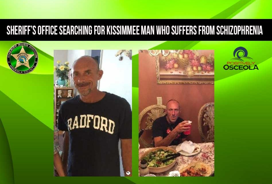 Osceola Sheriff's Office Searching for 46-year-old Missing Man With Schizophrenia