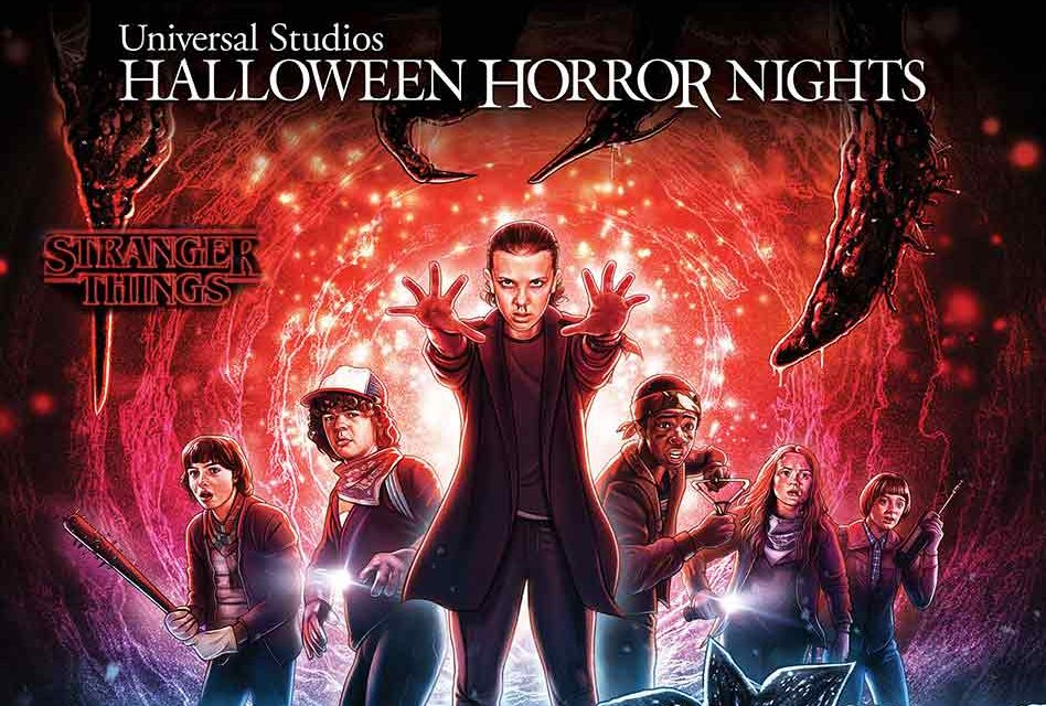 "New Artwork Released for the All-new ""Stranger Things"" Mazes Coming to Halloween Horror Nights"