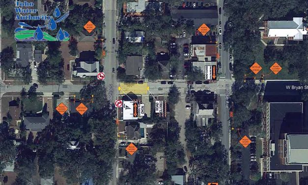 Temporary Road Closure on W. Bryan St. Between S. Clyde Ave and S. Rose Ave Beginning Monday, July 8