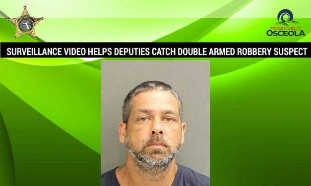 Surveillance Video Helps Deputies Catch Double Armed Robbery Suspect