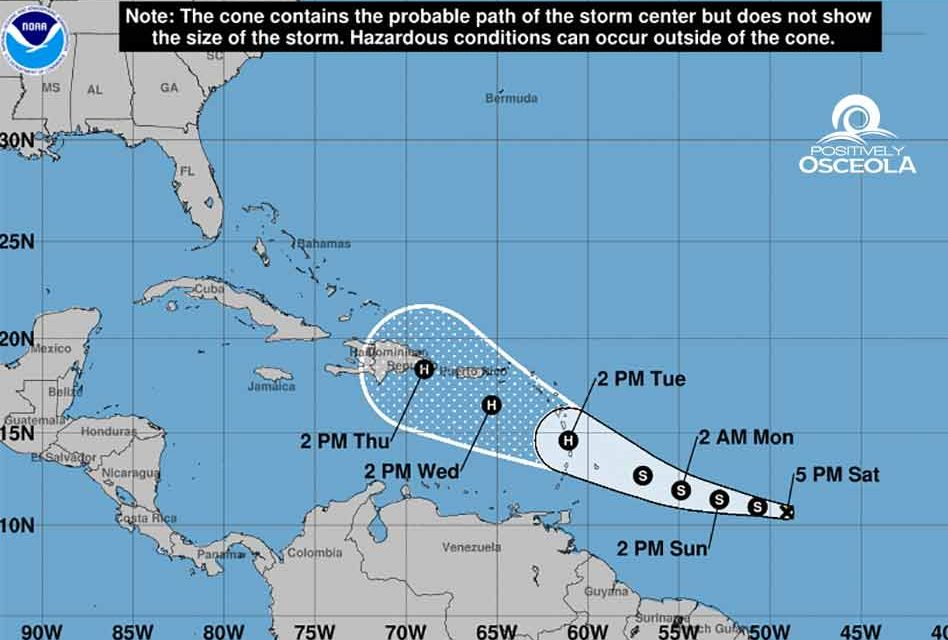 Tropical Storm Dorian Heading West in Atlantic, Could Become Hurricane by Tuesday