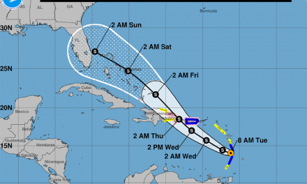 Central Florida is in Tropical Storm Dorian's Cone of Uncertainty
