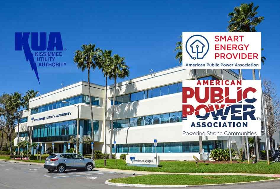 Kissimmee Utility Authority Recognized As National Smart Energy Provider