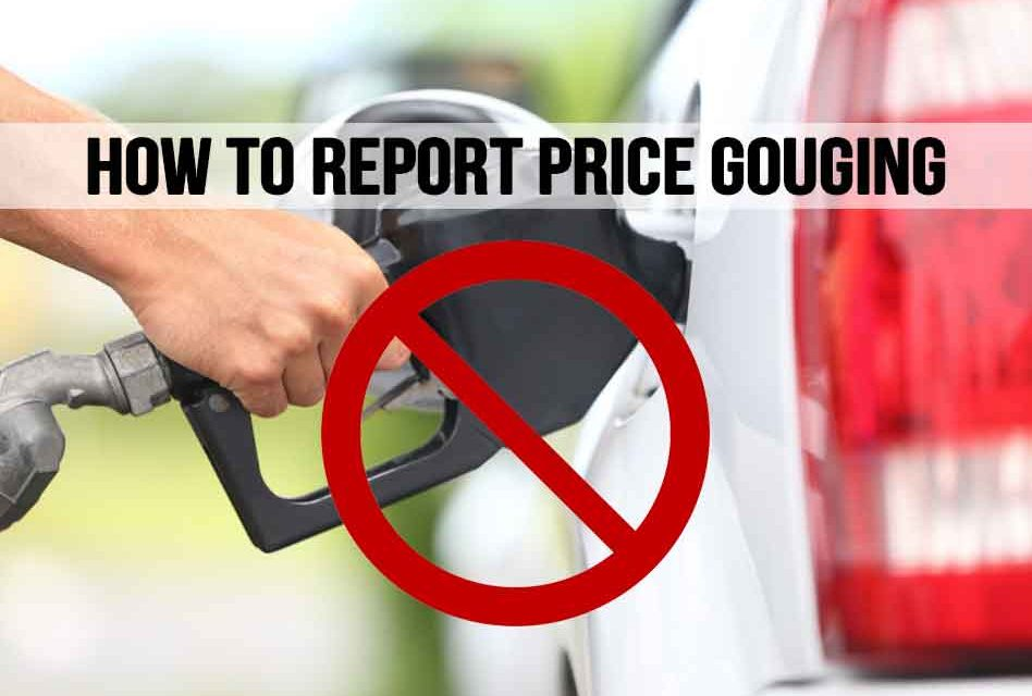 How to Report Price Gouging in Florida During a Declared State of Emergency