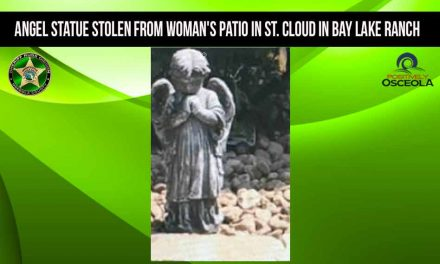 Angel Statue Stolen from Woman's Patio in St. Cloud in Bay Lake Ranch