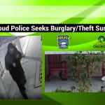St. Cloud Police Requesting Public's Help in Locating Burglary/Theft Suspect