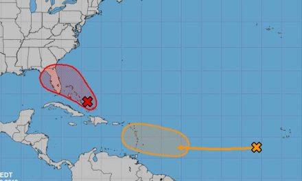 Disturbance in the Atlantic Means Wet Weather for the Weekend