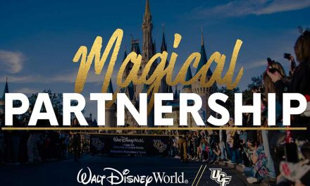 Walt Disney World's Pixie Dust is Officially UCF Knights Black and Gold!