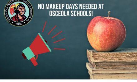 No Make-Up Days Needed In Osceola Schools Due to Hurricane Dorian