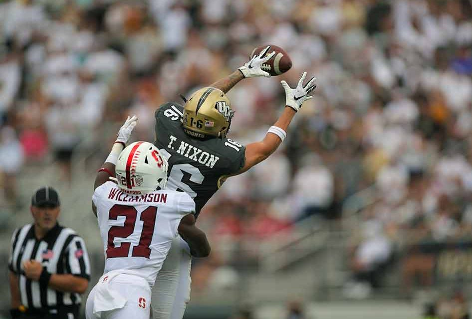 UCF Knights Use Fast Start to Dismantle Stanford, 45-27