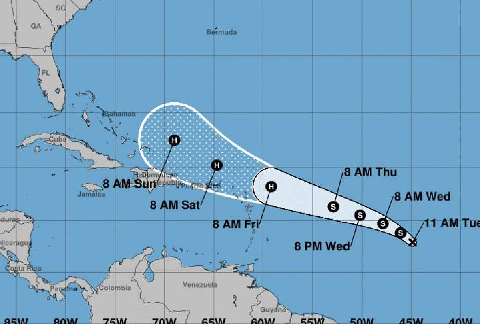 Tropical Depression Forms in the Atlantic, Expected to Move Westward and Become Hurricane Jerry
