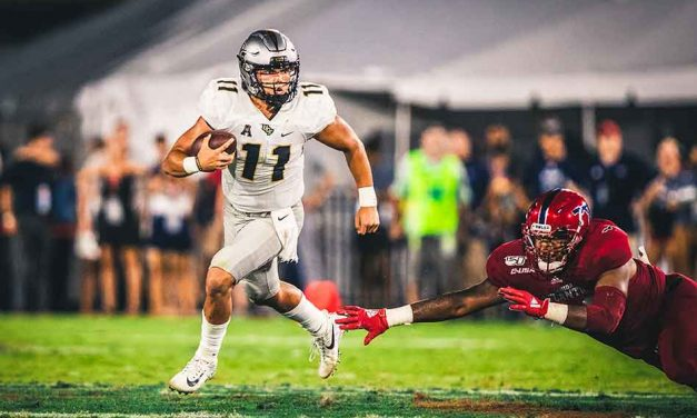 UCF Knights Dominate FAU 48-14 and Improve to 2-0