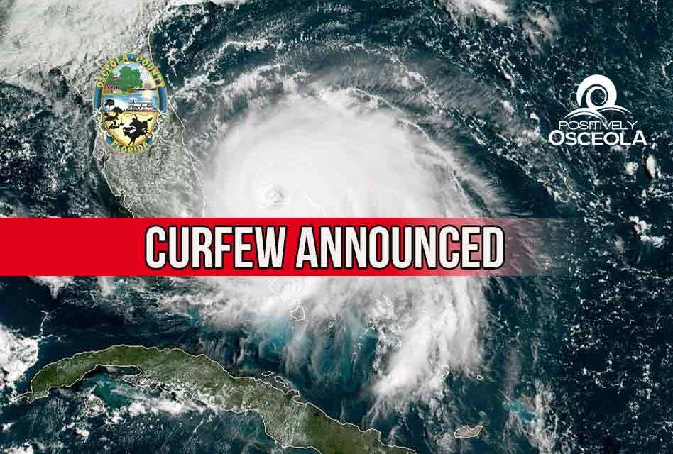 Osceola County Announces Nightly Curfew Ahead of Hurricane Dorian