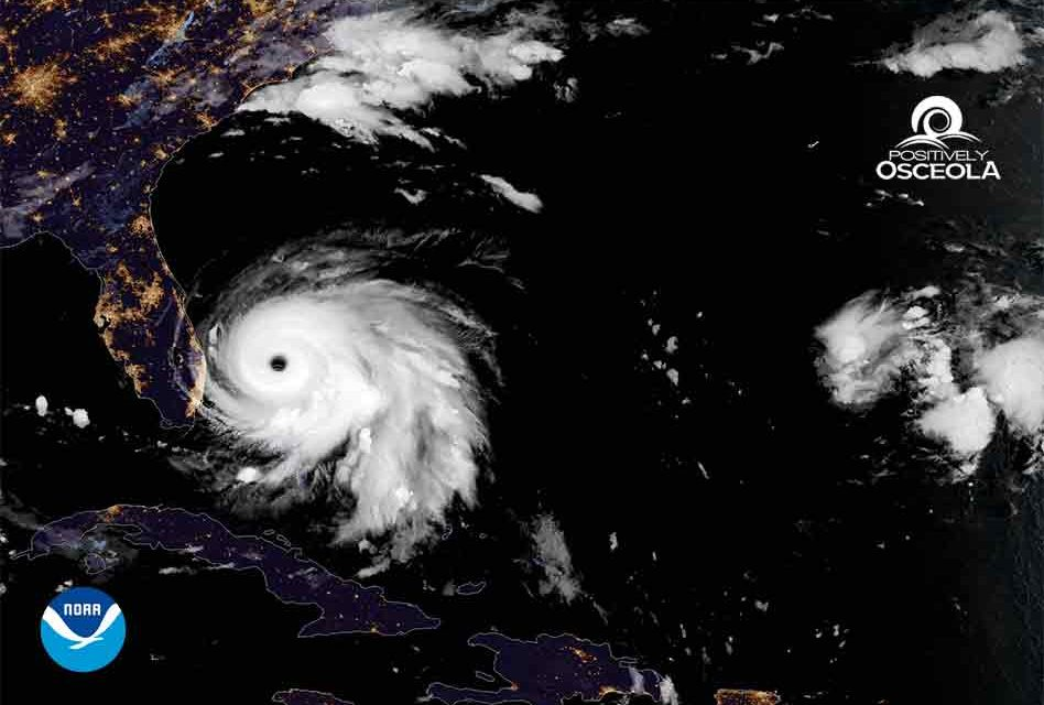 Category 5 Hurricane Dorian Edges Dangerously Closer to Florida at 1 mph