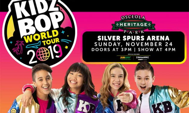 Kidz Bop World Tour Coming to Osceola Heritage Park in Kissimmee, Tickets On Sale Friday!