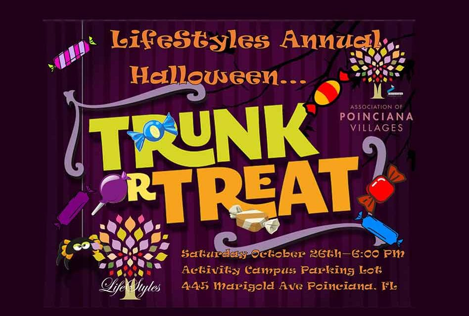 Association of Poinciana Villages to Host Annual Trunk or Treat October 26th