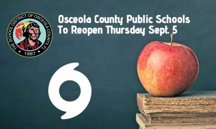 Osceola School District To Reopen All Public Schools On Thursday, September 5