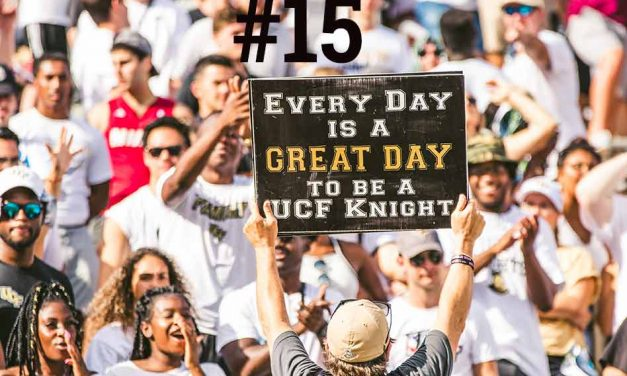 UCF Knights Jump to 15th in AP Poll After Stomping Stanford on Saturday!