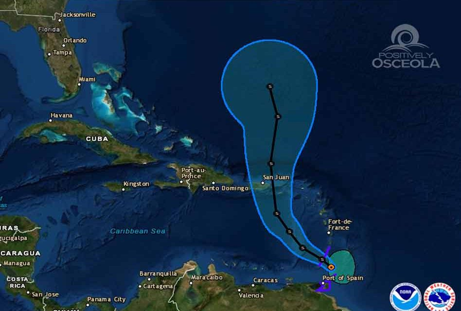 Tropical Storm Karen Forms in the Atlantic and Heads Toward Puerto Rico