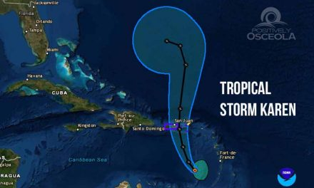 Tropical Storm Karen Continues to Head Toward Puerto Rico and the Virgin Islands