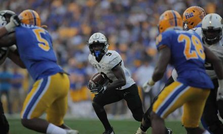 UCF Knights Lose First Regular Season Game Since 2016, Falls 35-34 to Pitt