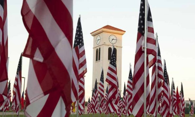 Valencia College to Pay Virtual Tribute to 911 Victims, 2,977 flags on display at Valencia Osceola Campus