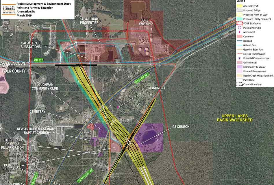 Central Florida Expressway Authority Approves Poinciana Parkway Extension PD&E and Advances Project to Production Phase