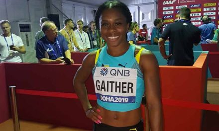 OHS alum Tynia Gaither 8th in 200 meters at track's world championships