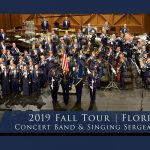 Come see the Air Force's Concert Band and Singing Sergeants perform at Disney Springs this week