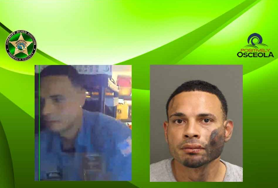 Tip from citizen leads to arrest of armed burglary suspect, Osceola detectives say