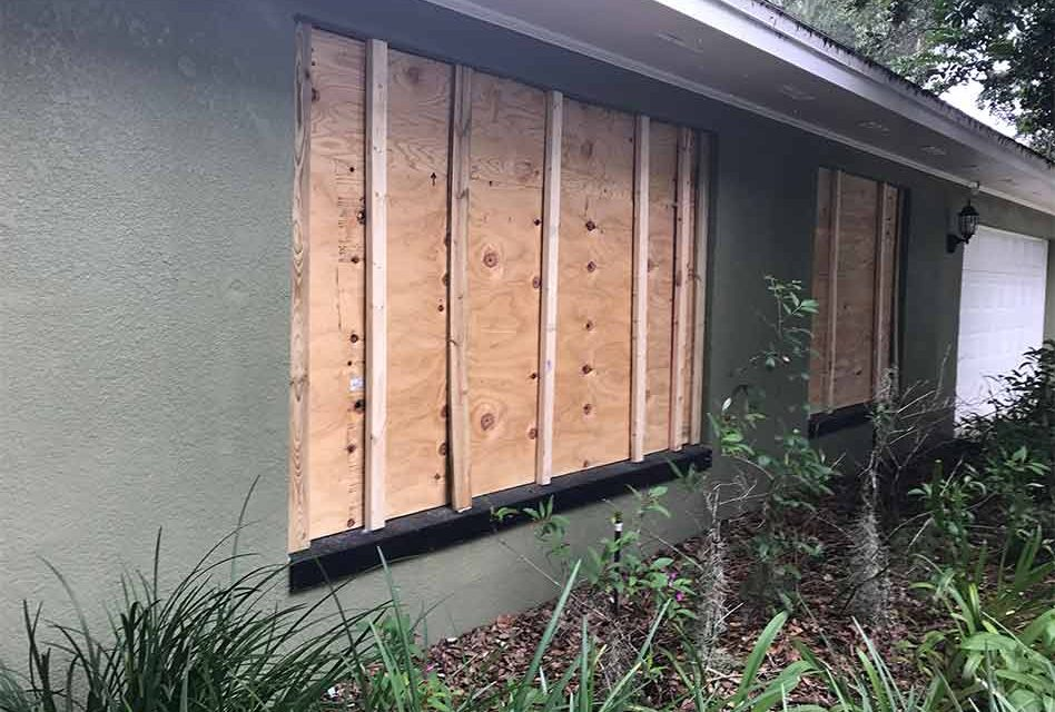 City of Kissimmee reminding residents to remove boards from windows now that Hurricane Dorian is history