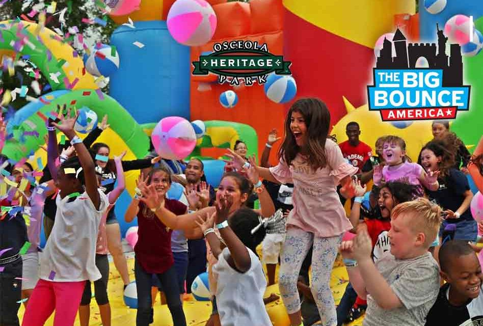 Time to bounce! Bounce House America coming to Osceola Heritage Park the next two weekends