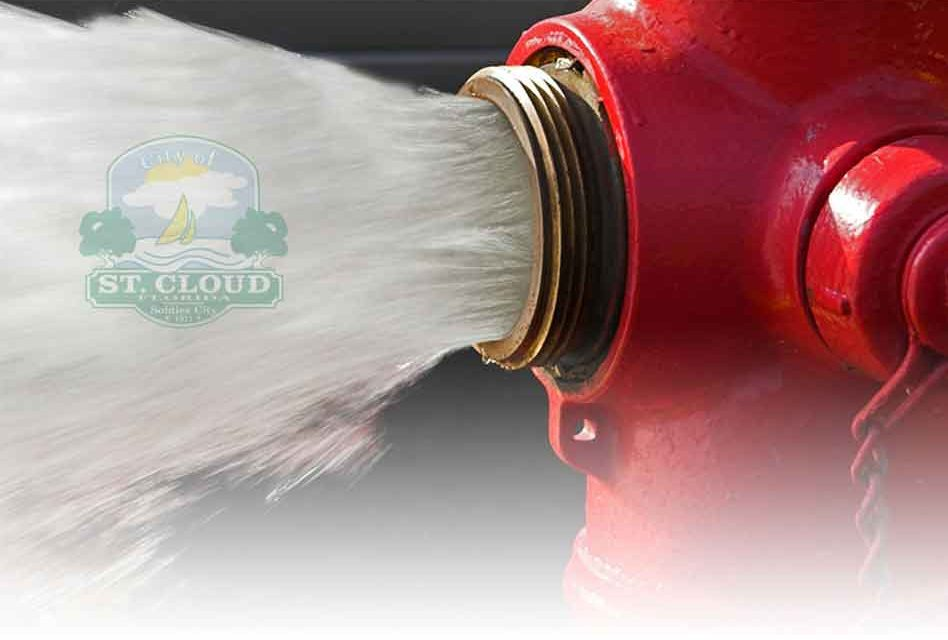 St. Cloud is flushing the water pipes; find out more at Oct. 16 community meeting