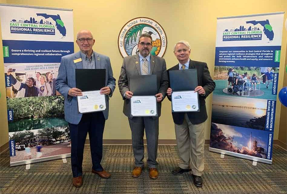 The East Central Florida Region's Communities connect, commit and collaborate for greater resilience